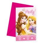 1090060_81581P Princess uitnodigingen 6 st.