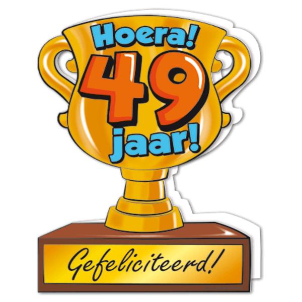 Gefeliciteerd 49 Jaar