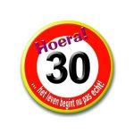 87 - 30 jaar - verkeersbord-396x456