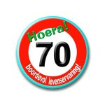 94 - 70 jaar - verkeersbord-396x456