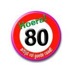 95 - 80 jaar - verkeersbord-396x456