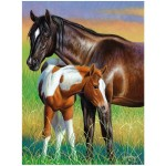 LL30113POS MARE AND FOAL