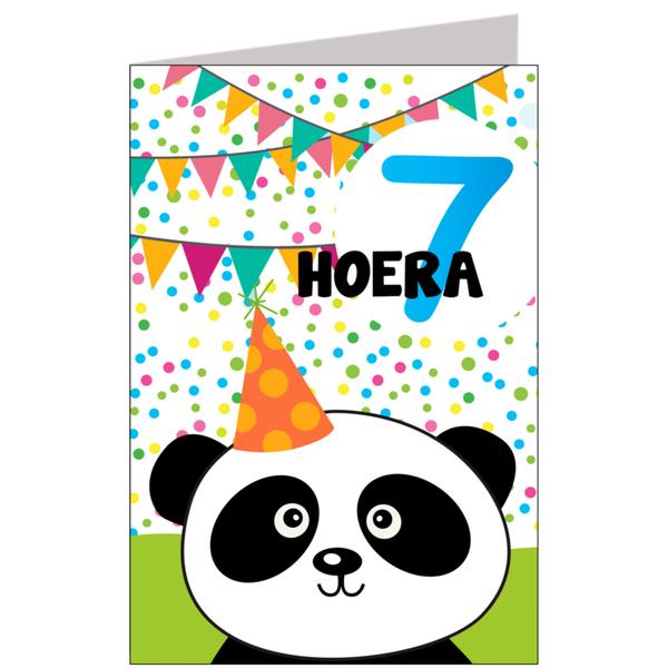 hoera 7 jaar Hiep hiep hoera 7 jaar   feestartikelen bestellen 7 jaar verjaardag hoera 7 jaar