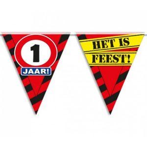 Partyvlaggen 1 jaar