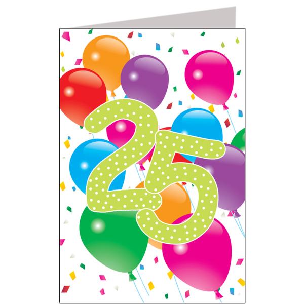 Hiep Hiep Hoera 25 Jaar Feestartikelen Bestellen 25 Jaar Verjaardag