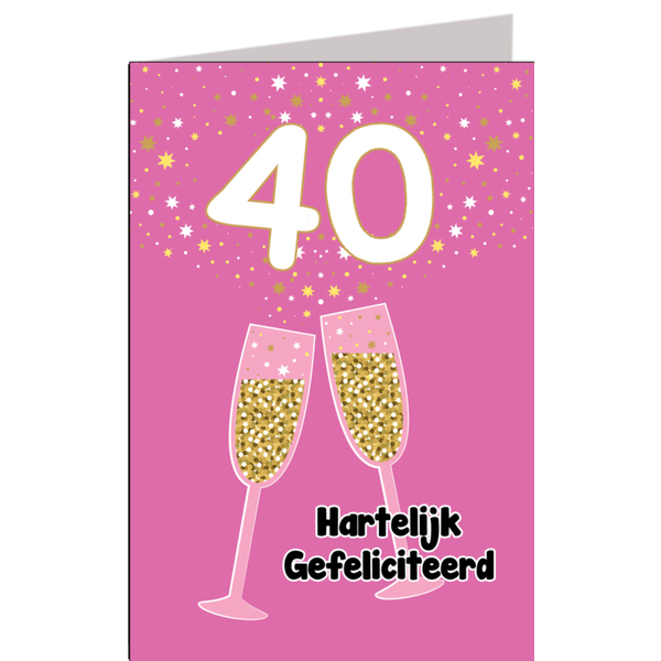 Vrouw 40 Jaar Cadeau