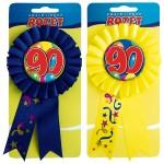 Rozet ballon 90 jaar