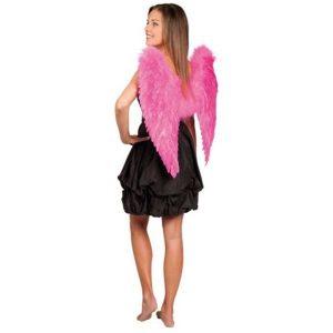 Engelenvleugels roze volwassen maat