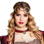 Bril retro steampunk