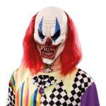 Masker duivelse clown met haar