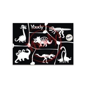 Ybody sjabloon dinosaur