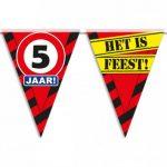 Partyvlaggen 5 jaar