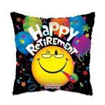 Folieballon Happy retirement