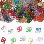 Tafelconfetti 50