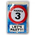 Happy age kaart 3 jaar