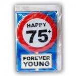 Happy age kaart 75+ jaar