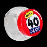 Candy jar 40 jaar