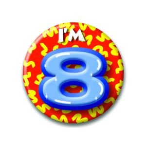 Button I'm 8