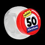 Candy jar 50 jaar abraham