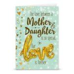 Gift card love ballon Mother & daughter