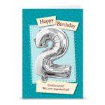 Leeftijd ballon gift card 2
