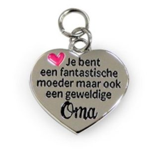 Charm for you moeder-oma