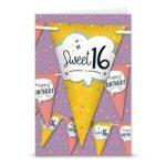 Feestvlaggen Sweet 16
