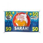 Gevelvlag XXl hoera sarah 50