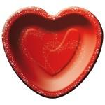 Bord rood hart