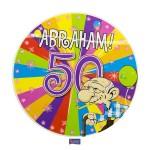 Led party button Abraham