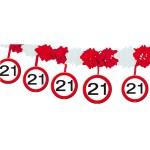 Slinger onderhanger verkeersbord 21 jaar