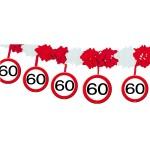 Slinger onderhanger verkeersbord 60