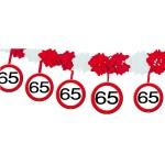 Slinger onderhanger verkeersbord 65