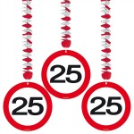 Decohanger verkeersbord 25