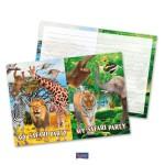 Uitnodigingen safari party