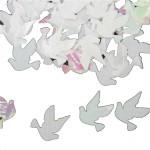 Tafeldecoratie sierconfetti duifjes