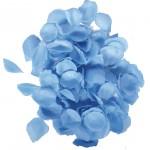 Luxe lichtblauw rozenblaadjes