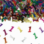 Tafelsierconfetti 1 jaar