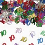 Tafelsierconfetti 10 jaar