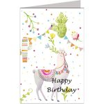 Wenskaart Green Hill Happy birthday