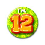 Button I'm 12