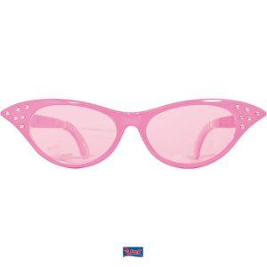 Bril XXL Lady Roze met Roze Glazen