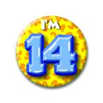 Button I'm 14