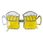 Bril bierglas geel