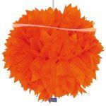 Pompon oranje