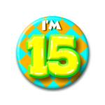 Button I'm 15