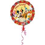 Folieballon Mickey Friends Happy Bday