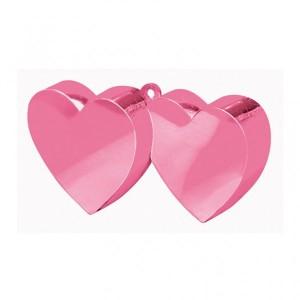 Ballon gewicht pink hart