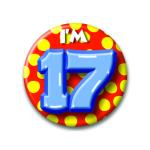 Button I'm 17
