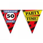 Partyvlaggen 50 jaar abraham